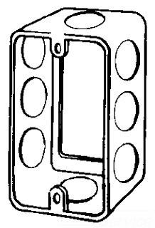 184E APP 4-1/8X2-3/8 BOX EXT STEEL