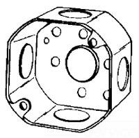 3O1/2 APP 3X1-1/2 DEEP OCT BOX