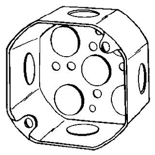 4OD1/2 APP 4X2-1/8 DEEP OCT BOX
