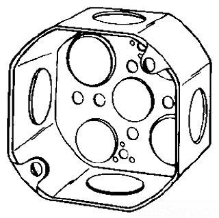 4OD3/4 APP 4X2-1/8 DEEP OCT BOX