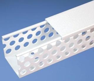 D4X4WH6 PAN WHITE HOLE DUCT PVC D1B