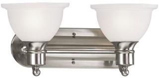 P3162-09 PRO BATH BRACKET 2-100W MED