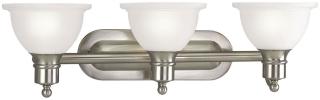 P3163-09 PRO BATH BRACKET 3-100W MED