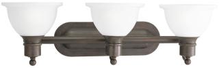 P3163-20 PRO BATH BRACKET 3-100W MED