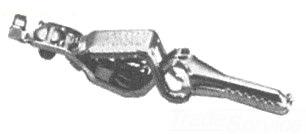 SC-85C-BU SEL/MUE CROCODILE COPPER CLIP 10-AMP 2-1/8 (20) BULK (A1) 23853