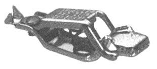 SC-27C-BU SEL/MUE GENERAL PURPOSE COPPER CLIP 40A BULK A1 (20)