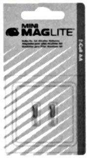 LM2A001 SEL LAMP, MINI MAGLITE AA 2 BULBS PER CARD