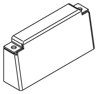 RFB-B WAL BLANK BRACKET-RFB4 SER 78656427758