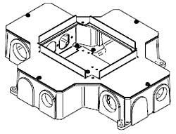 RFB4-CI-1 MULTIPLEX FLOOR BOX WALKER