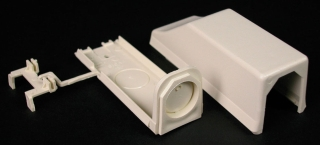 810A2 WMD IVORY ENTRANCE END FITTING 1/5/CTN