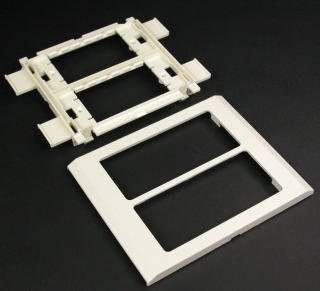 G4050 WMD DEVICE MOUNTING PLATE FOR 4000 GREY