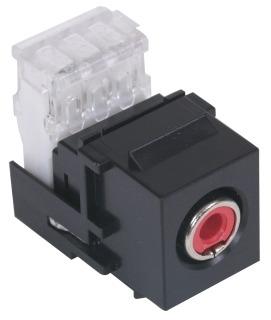 SFRC110R HUB SNAP FIT RCA CONNECTOR