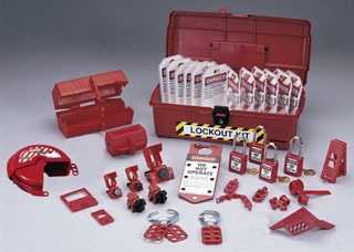 44-974 IDL INDUSTRIAL LOCKOUT / TAGOUT KIT