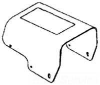 36692 RIDGE COVER, FOOTSWITCH 09569136692