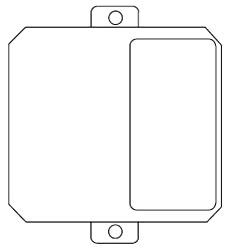 M-GFI WAL MULTIPLEX GFI PLATE 78656454002