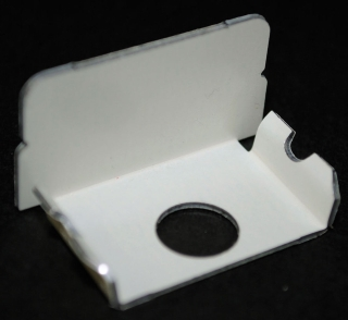 WH2010B WIREMOLD STL BLANK END FITTING 2000 WHITE 78677607434 5/BOX