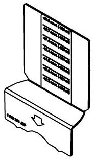 881DIV WALKER PVC BOX DIVIDER 78656452428