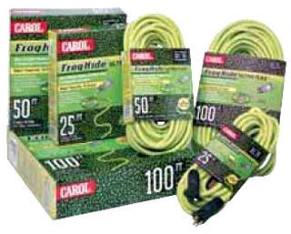 14/3 SJOW-A GREEN FROG-HIDE CORD 100' 06400.63.06