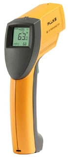 FLUKE-63 FLK INFRARED THERMOMETER TO 535C (999F) 09596926114