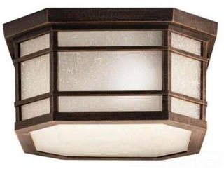 9811PR KICHLER OUTDOOR FLUSH MOUNT 3 LT INCAN 78392722526