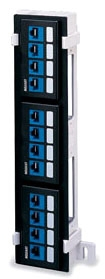 49255-Q89 LEV 12-PORT PATCH PANEL FIELD CONFIG (EMPTY)