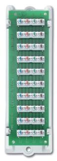 47689-B LEV 1X9 BRIDGED TEL DIST MODULE W/BRKT