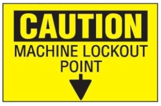 PVS0204C179Y PAN LOCKOUT SAFETY SIGN