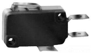 V7-1C17D8-022 MICROSWITCH BASIC MINIATURE, 15AMPS, 277VAC, STR'T LEVER, SPDT, 70120153