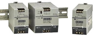 SDP06-24-100T SOL 24V .6A LOW POWER DIN RAIL POWER SUPPLY