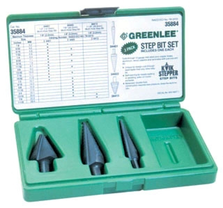 35884 GRE STEP BIT KIT #1 #3 &#8