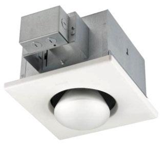 9412D NUTONE 1-BULB HEAT LAMP BULB HEATERS HV