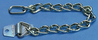 PSL-PC PAN HEAVY DUTY ZINC PLATED PADLOCK CHAIN ATT