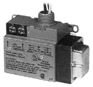 24A01G3 TPI 240V LOW VOLTAGE RELAY, SINGLE SWITCH SINGLE THROW 68633426005