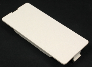 5507B WMD IVORY BLANK FACEPLATE