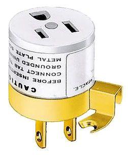 HBL5273L HUB 15A 125V SGL PLUG-IN ADAPTER 2W TO 3W 78358517345