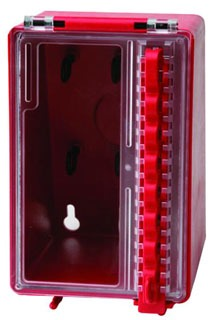 BRADY 50938 WALL MOUNTED PLASTIC LOCK BOX
