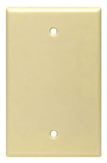 80514-T LEV 1G MIDWAY PLATE BLANK LT ALMOND