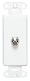 40681-W LEV CATV DECORA INSERT WHITE