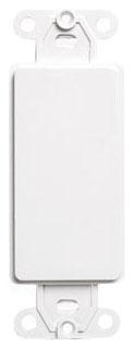 80414-W LEV DECORA INSERT BLANK WHITE