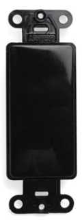 80414-E LEV DECORA INSERT BLANK BLACK