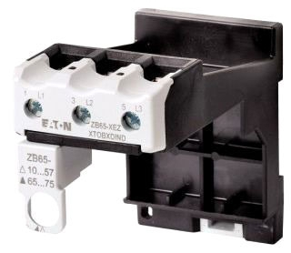 XTOBXDIND CH IEC OVLR ACCESSORY DIN RAIL OR PANEL MOUNT ADAPTER FRAME D