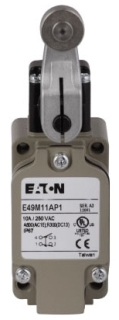 E49M11AP1 CH FULL SIZE METAL DIN SIDE ROTARY LIMIT SWITCH, 1 N.O. & 1
