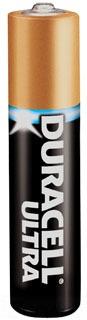 MX2500B2PK DUR ULTRA AAAA-SIZE 1.5 V BATTERY ALKALINE 2/PK D1 (6)