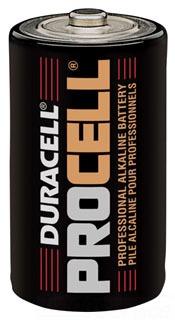 PC1300 DUR PROCELL D-SIZE 1.5 VOLT BATT ALKALINE (G-DL-PC1300)