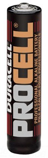 PC2400TC24 DUR BATTERY AAA SIZE 1.5 VOLT ALKALINE (G-DL-PC2400) (24)