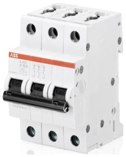 S203-K25 ABB MCB 3P K 25A 480Y/277 SUPP