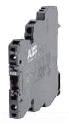 1SNA645014R2700 ABB R600 TERMINAL BLOCK RELAY 6MM, 24VAC/DC COIL, w/LED, SPST (NO) 6AMP @ 250V, SCREW TERMINAL RB111A-24VAC/DC