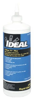 31-398 IDL YELLOW 77 PLUS 1-QT WIRE LUBE
