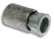 J1408 MET 3/8-16 MACHINE SCREW LEAD ANCHOR 50PC/JAR