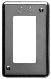 DS23-GFI CRS-H SNGL GNG SHEET STEEL SURFACE MOUNT COVER FOR GFI